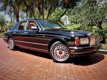 1999 Rolls-Royce Silver Seraph Black Special Interior Chrome Wheels Sedan