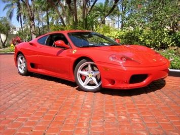 2004 Ferrari 360 Modena 6 Speed Manual Coupe