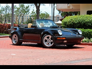 1988 Porsche 911 930 Turbo Convertible