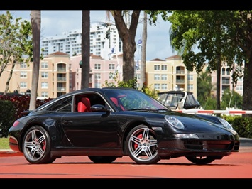2008 Porsche 911 Targa 4S 6 Speed Manual Transmission Coupe