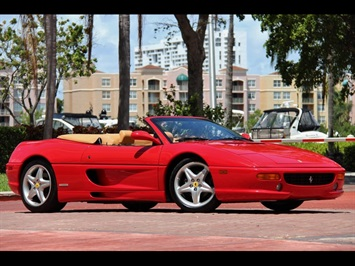 1997 Ferrari 355 Spider 6 Speed Manual Transmission Convertible