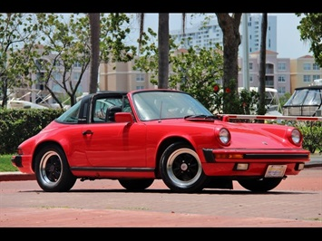 1984 Porsche 911 Carrera Convertible