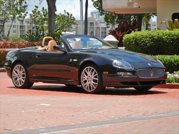 2006 Maserati GranSport Spyder Convertible