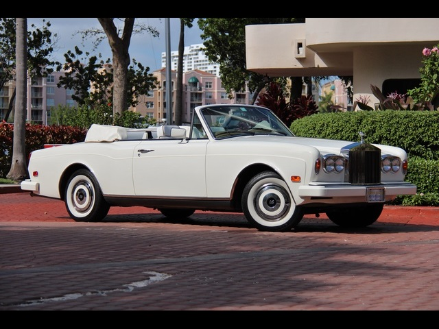 1988 rolls royce corniche for sale in miami fl stock 13326. Black Bedroom Furniture Sets. Home Design Ideas