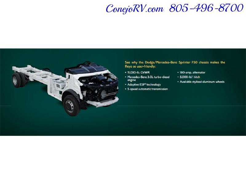 2010 Itasca Reyo 25R Full Wall Slide Full Body Paint Diesel - Photo 40 - Thousand Oaks, CA 91360