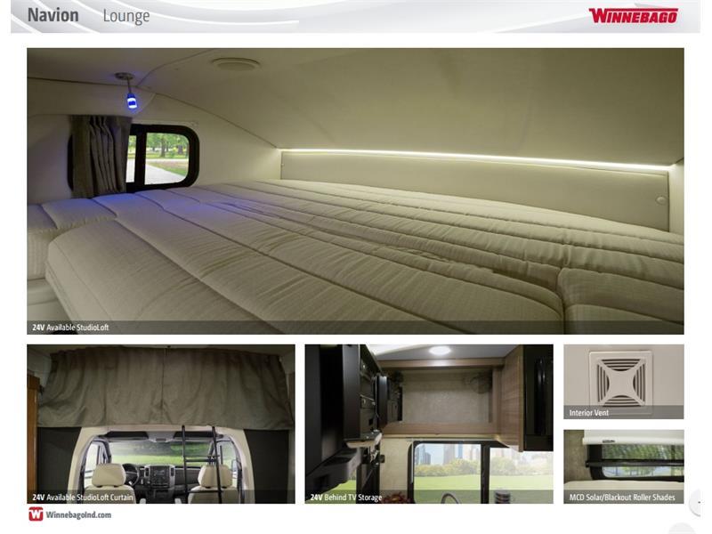 2017 Winnebago Itasca Navion 24G 2-Slides Full Body Paint Diesel - Photo 46 - Thousand Oaks, CA 91360