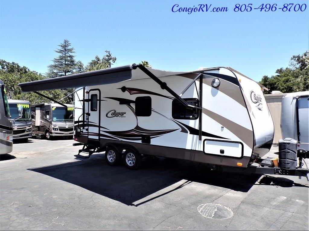 2014 Keystone Cougar 21RBS Slide Out Travel Trailer - Photo 32 - Thousand Oaks, CA 91360