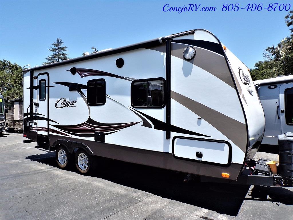 2014 Keystone Cougar 21RBS Slide Out Travel Trailer - Photo 3 - Thousand Oaks, CA 91360