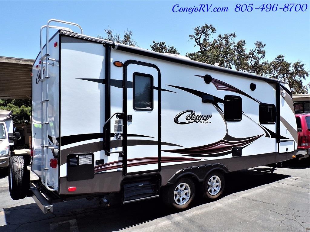 2014 Keystone Cougar 21RBS Slide Out Travel Trailer - Photo 4 - Thousand Oaks, CA 91360