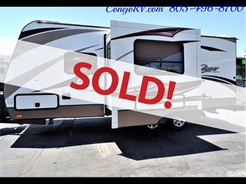 2014 Keystone Cougar 21RBS Slide Out Travel Trailer