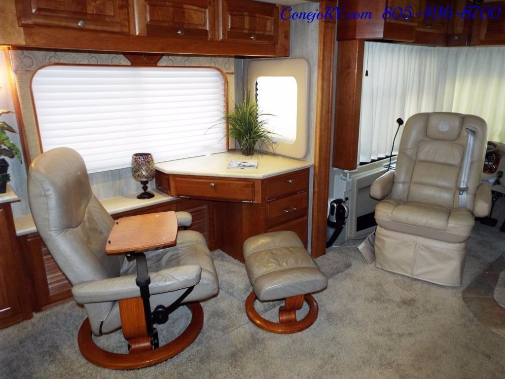2005 Monaco Holiday Rambler Navigator 43PBQ Quad-Slide 515hp - Photo 12 - Thousand Oaks, CA 91360