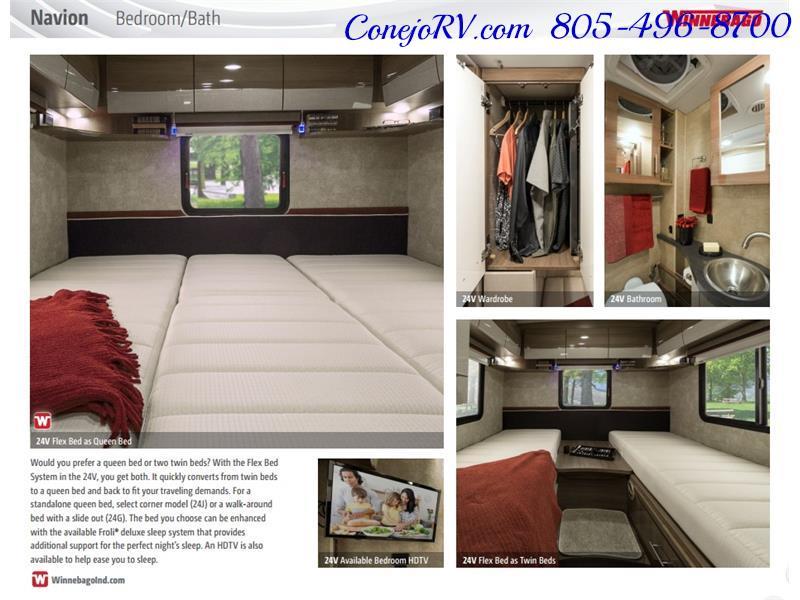 2017 Winnebago Itasca Navion 24V Slide-Out Full Body Paint Diesel - Photo 45 - Thousand Oaks, CA 91360