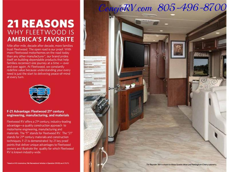 2017 Fleetwood Bounder LX 36X 3-Slide Big Chassis Full Body Paint - Photo 54 - Thousand Oaks, CA 91360