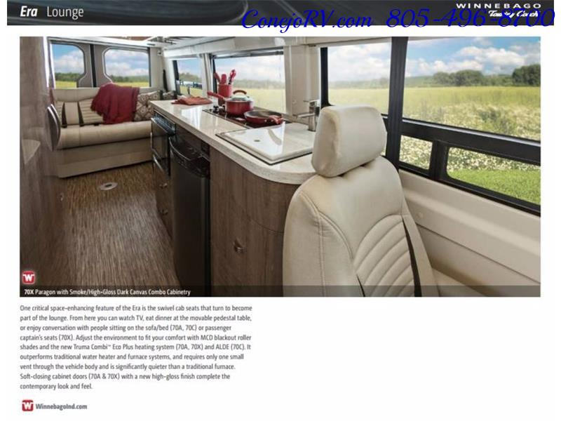 2017 Winnebago 70X ERA 24FT Mercedes Sprinter Diesel - Photo 35 - Thousand Oaks, CA 91360