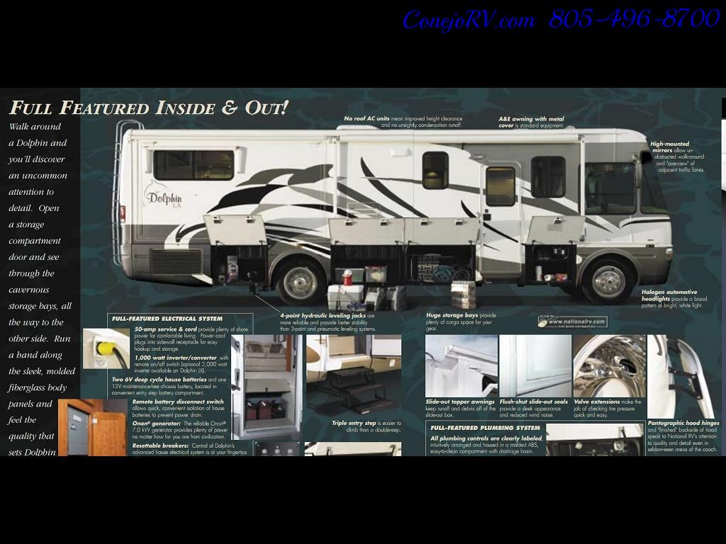 2005 National Dolphin 5340 2-Slide Big Chassis 30k Miles - Photo 41 - Thousand Oaks, CA 91360