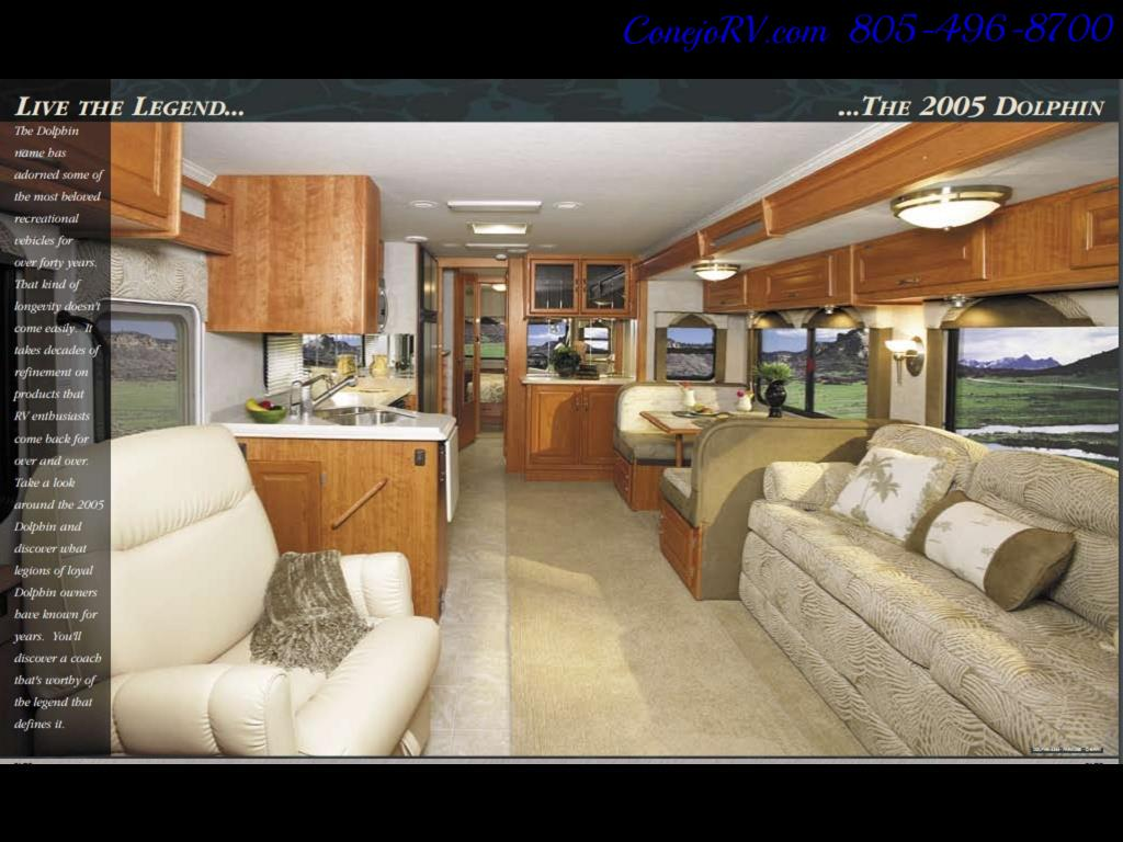 2005 National Seabreeze 5340 2-Slide Big Chassis 30k Miles - Photo 40 - Thousand Oaks, CA 91360