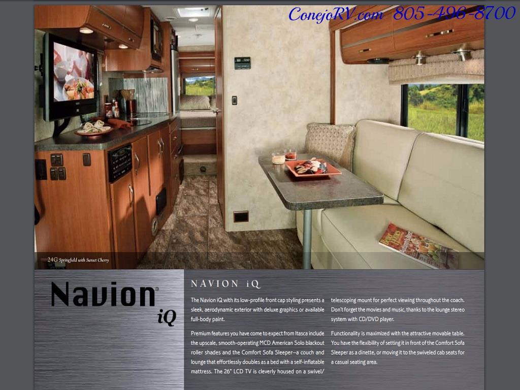 2012 Winnebago Itasca Navion 24G 2-Slide Full Paint  15k Miles - Photo 31 - Thousand Oaks, CA 91360