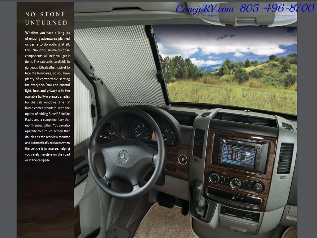 2012 Winnebago Itasca Navion 24G 2-Slide Full Paint  15k Miles - Photo 35 - Thousand Oaks, CA 91360
