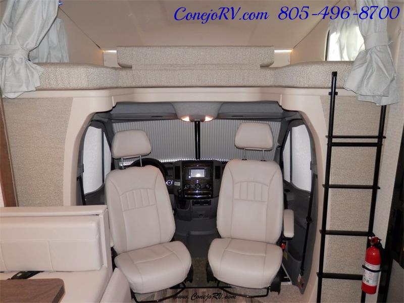 2017 Winnebago Itasca Navion 24J Slide-Out Full Body Paint Diesel - Photo 25 - Thousand Oaks, CA 91360