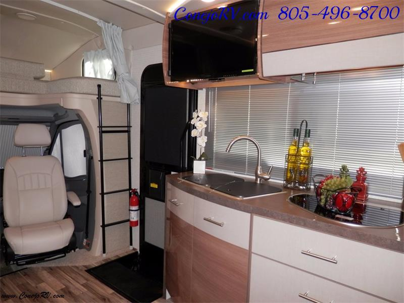 2017 Winnebago Itasca Navion 24J Slide-Out Full Body Paint Diesel - Photo 14 - Thousand Oaks, CA 91360