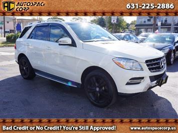 2013 Mercedes-Benz ML350 4MATIC SUV