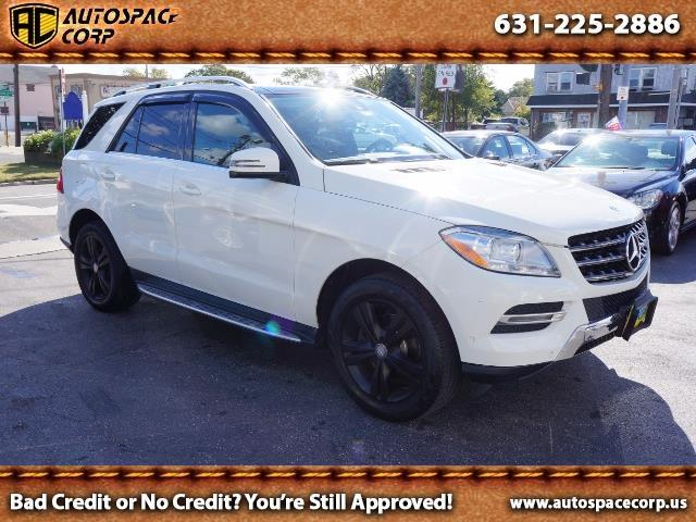 2013 Mercedes-Benz ML350 4MATIC - Photo 1 - Copiague, NY 11726