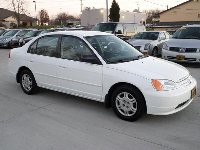 2002 honda civic lx for sale in cincinnati oh stock 11452. Black Bedroom Furniture Sets. Home Design Ideas