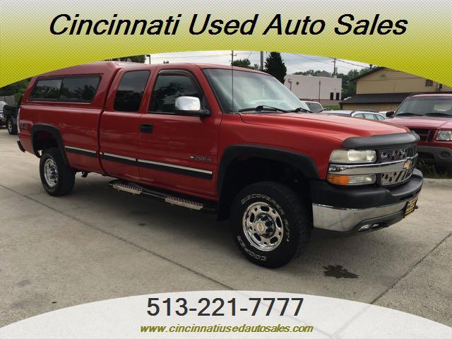 2002 Chevrolet Silverado 2500 LS 4dr Extended Cab - Photo 1 - Cincinnati, OH 45255