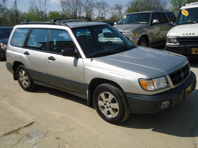 2000 subaru forester l for sale in cincinnati oh stock 10927. Black Bedroom Furniture Sets. Home Design Ideas