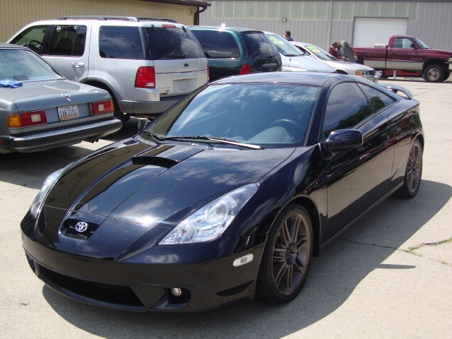 2002 toyota celica gt for sale in cincinnati oh stock 10040. Black Bedroom Furniture Sets. Home Design Ideas