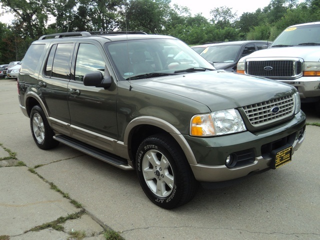 2003 ford explorer eddie bauer for sale in cincinnati oh stock 10720. Black Bedroom Furniture Sets. Home Design Ideas
