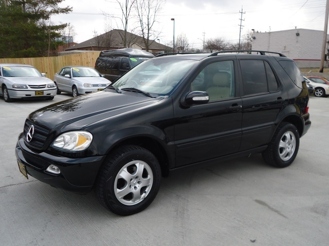 2002 mercedes benz ml320 for sale in cincinnati oh