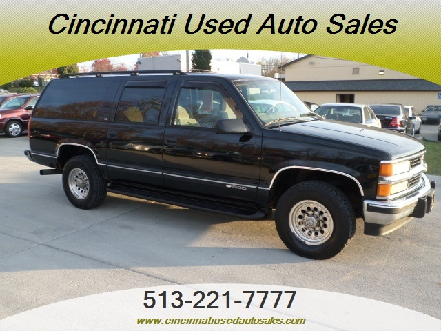1997 chevrolet suburban c1500 for sale in cincinnati oh stock 11754. Black Bedroom Furniture Sets. Home Design Ideas