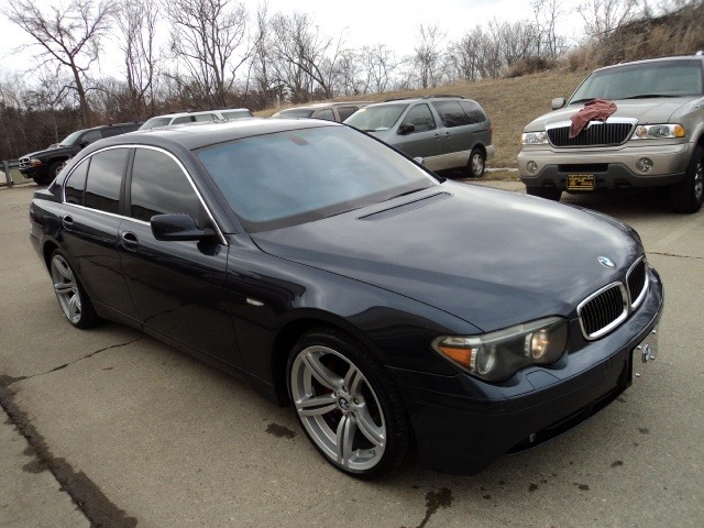 2002 bmw 745i for sale in cincinnati oh stock 10539. Black Bedroom Furniture Sets. Home Design Ideas