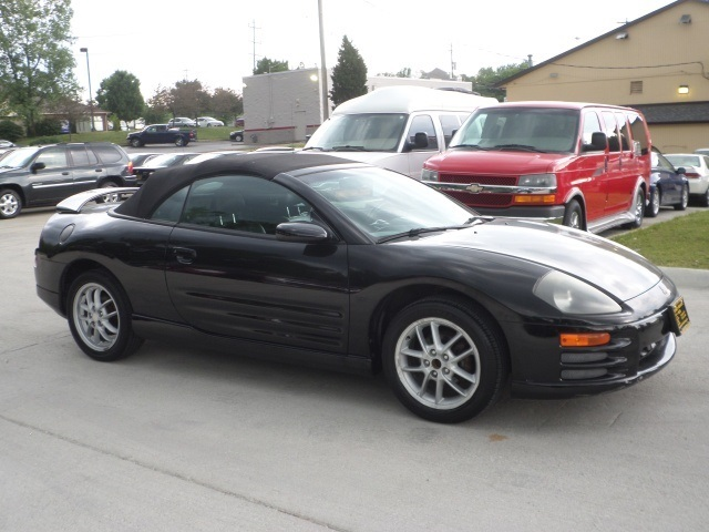 2001 mitsubishi eclipse spyder gt for sale in cincinnati. Black Bedroom Furniture Sets. Home Design Ideas