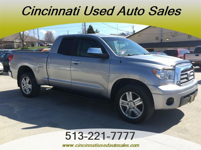 2007 toyota tundra limited 4dr double cab for sale in cincinnati oh stock 12152. Black Bedroom Furniture Sets. Home Design Ideas