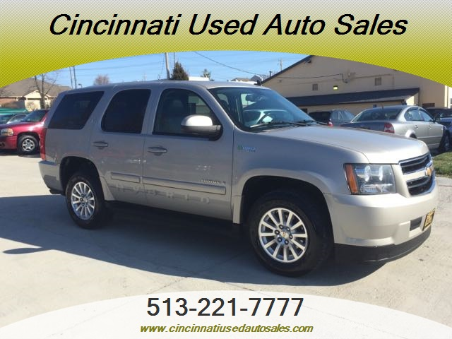2008 chevrolet tahoe hybrid for sale in cincinnati oh stock 11911. Black Bedroom Furniture Sets. Home Design Ideas