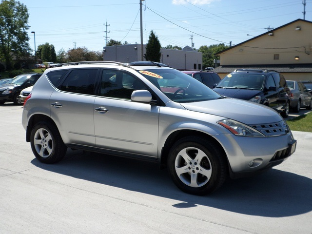 2003 nissan murano se for sale in cincinnati oh stock. Black Bedroom Furniture Sets. Home Design Ideas