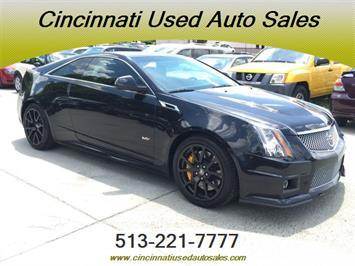 2011 Cadillac CTS V Coupe