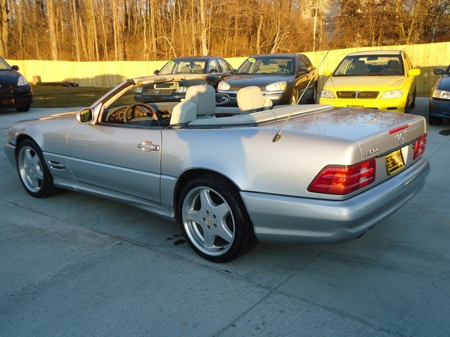 1999 mercedes benz sl500 for sale in cincinnati oh for Used mercedes benz for sale in ohio