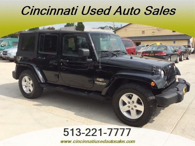2007 jeep wrangler unlimited sahara for sale in cincinnati oh stock 11901. Black Bedroom Furniture Sets. Home Design Ideas
