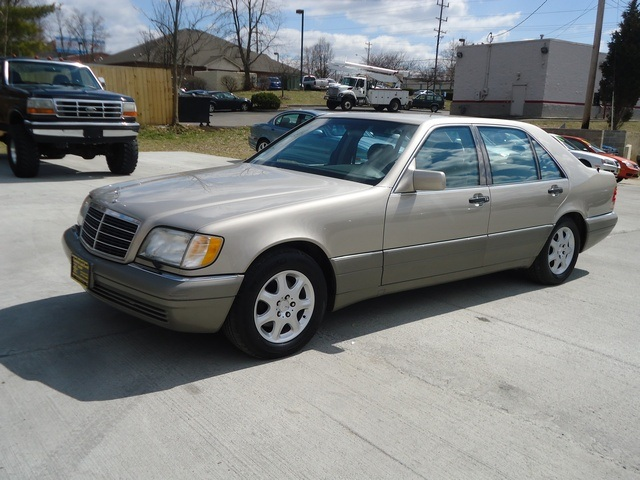 1995 mercedes benz s420 for sale in cincinnati oh stock