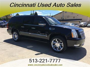 2011 Cadillac Escalade ESV Platinum Edition SUV