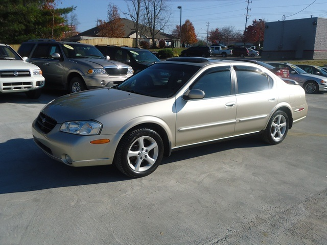 2000 nissan maxima se for sale in cincinnati oh stock 11080. Black Bedroom Furniture Sets. Home Design Ideas