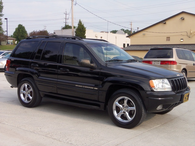 1999 jeep grand cherokee limited for sale in cincinnati oh stock 11278. Black Bedroom Furniture Sets. Home Design Ideas