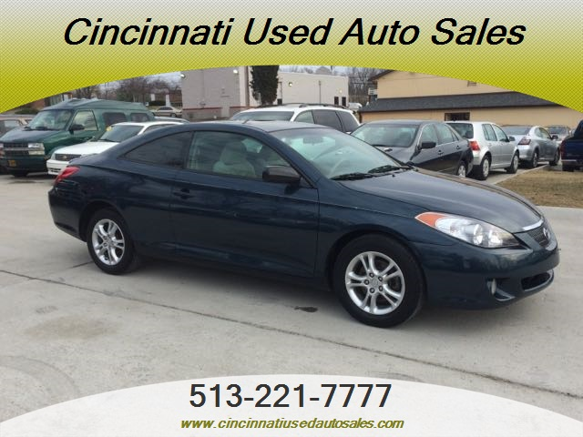 2006 toyota camry solara se for sale in cincinnati oh stock 11845. Black Bedroom Furniture Sets. Home Design Ideas