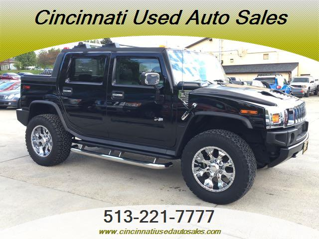 2005 hummer h2 sut for sale in cincinnati oh stock 12775. Black Bedroom Furniture Sets. Home Design Ideas
