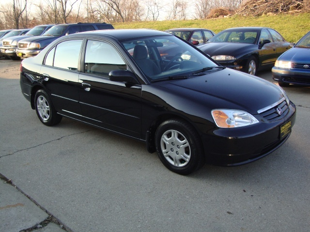 2002 honda civic lx for sale in cincinnati oh stock 10097. Black Bedroom Furniture Sets. Home Design Ideas
