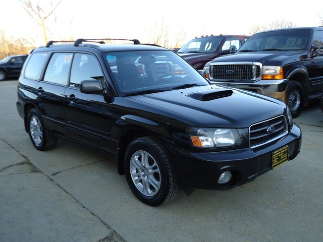 2004 subaru forester xt for sale in cincinnati oh stock 10857. Black Bedroom Furniture Sets. Home Design Ideas