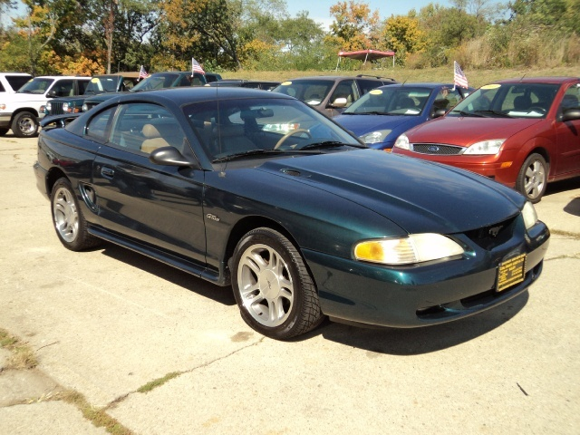 1997 ford mustang gt for sale in cincinnati oh stock 10407. Black Bedroom Furniture Sets. Home Design Ideas
